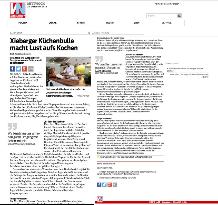 VN Artikel – Xibulls & Bildungscoach
